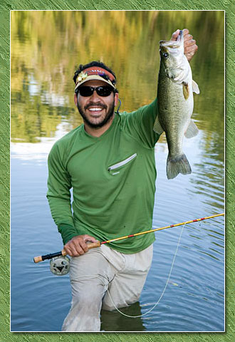 johnny quiroz with a nice bass